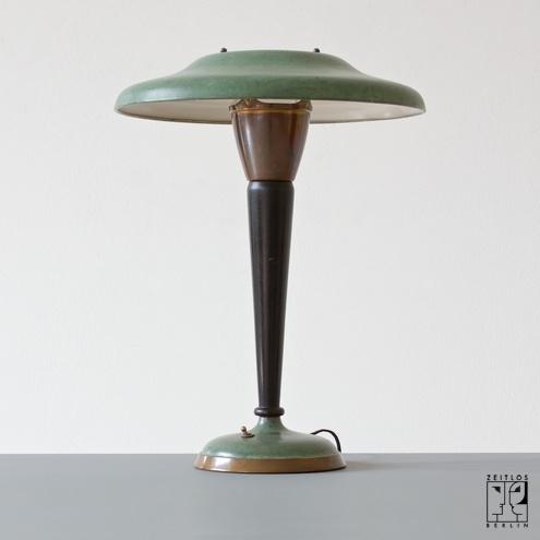 Klassische französische Art Deco Lampe dreißiger Jahre ...
